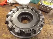"TaeguTec 5.0"" Diameter  Fly Cutter / Shell Mill TFM55HN D5.00 R-10CB"