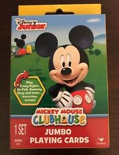 Disney junior Mickey Mouse Clubhouse Kids Jumbo Playing Cards