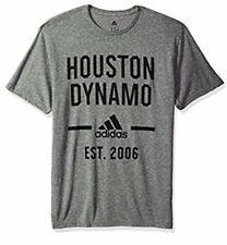 Adidas Men's Houston Dynamo Simply Put Tri Blend Soccer Jersey Shirt Large L