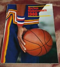 Harlem Globetrotters 1980 Official Program Signed by 7 while on THE WHITE SHADOW