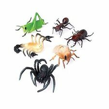 Lot Of 12 Assorted Large Bug Insect Toy Figures by US Toy Free Shipping