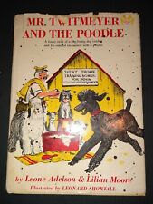 Mr. Twitmeyer And The Poodle Vintage Children's Book Hc Dj 1963 by Leone Adelson