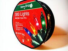 300 Multi Colored Lights On Convenient Spindle.Smart Bulb Tech.Plenty Enough