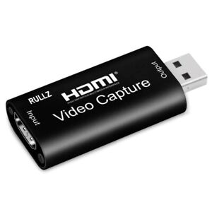 Video Capture Card USB 3.0 2.0 HDMI Video Grabber Record Box