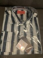 New York Yankees Long-Sleeve Button Down Shirt  By Vintage HEADMASTER XXL NEW