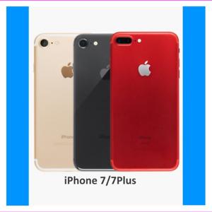 Apple iPhone 7/7 Plus 32GB 128GB Unlocked/ Verizon/ AT&T/ US Cellular/ Tracfone