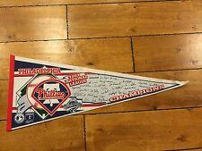 Philadelphia Phillies 1993 National League Champions World Series Pennant Team
