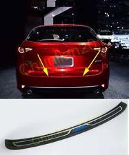 Rear Bumper Protector Sill Plate for 2017-2018 Mazda CX-5 cx5 ABS black
