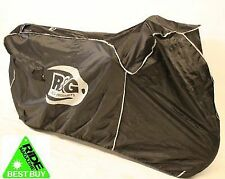 R&G RACING OUTDOOR MOTORCYCLE MOTORBIKE COVER BLACK FOR SUPERSPORT SUPERBIKES