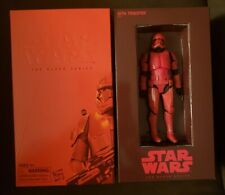 """Star Wars Black Series SITH TROOPER SDCC Exclusive 6"""" Figure w/ weapons Hasbro"""
