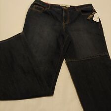 Fashion Bug Women's Jeans Size 14  Moderately Curvy Fit Straight   A10