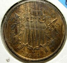 1864 2 (Two) Cent Piece High Grade Uncirculated