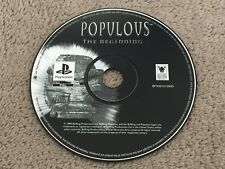 Populous: The Beginning - Sony Playstation