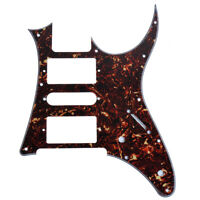 1 Pcs Dark Brown Tortoise Shell HSH Guitar Pickguard Ibanez RG250