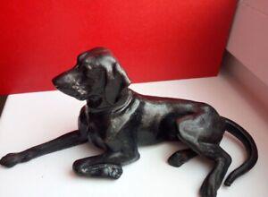 Vintage cast iron figure Kusa Kasli dog USSR statuette soviet