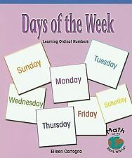 Days of the Week: Learning Ordinal Numbers