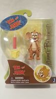 "JAZWARES TOYS HANNAH BARBERA TOM & JERRY "" JERRY WITH DYNAMITE 3"" ACTION FIGURE"