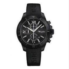 Nouveau Genuine Thomas sabo chrono noir montre en caoutchouc sangle WA0027-208-203-44 £ 319