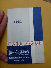 More details for 1962 boy scouts shop association catalogue brochure gilwell park film tv prop