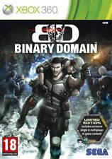 Binary Domain - Limited Edition | Xbox 360 New