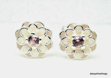 NEW! AUTHENTIC PANDORA SILVER EARRINGS BLOOMING DAHLIA STUDS #290687NBP
