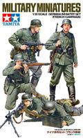 Tamiya 35293 1/35 Military Model Kit WWII German Infantry Set(French Campaign)