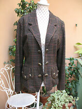 Moschino Couture Vintage wool jacket with jewllery buttons size 42 IT