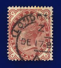 1880 SG167 1½d Venetian Red K4 London Good Used Cat £60 cjui
