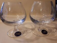 G2881. Masonic Brandy Glasses (Pair)  'Incorporated Society of Musicians' 2002