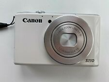 Canon PowerShot S110 12.1MP Digital Camera - White