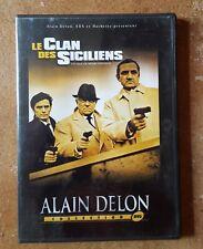 DVD LE CLAN DES SICILIENS - Alain DELON / Lino VENTURA / Jean GABIN - VERNEUIL