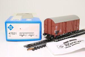 ROCO 47521 H0 gedeckter Güterwagen der DB in der OVP