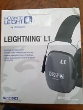 Howard Leight By Honeywell Leightning L1 Headband Earmuffs-Low Profile NRR25 NIP
