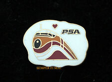 PSA I LOVE PSA AIRLINE HAT LAPEL PIN PACIFIC SOUTHWEST AIRLINER PILOT CREW GIFT!