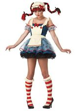 New Rag Doll Costume for TEEN/Adult size TEEN, California Costumes