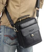 Men's Cowhide Genuine Leather Shoulder Messenger Bag Pack Fashion Tote