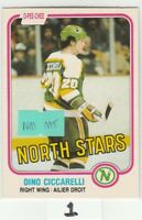 1981 81-82 O-Pee-Chee #161 Dino Ciccarelli RC Rookie NmMt