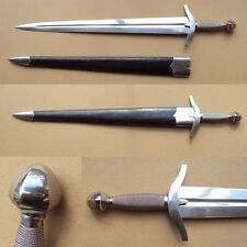 Classic English Medieval Short Sword with Hand Made High Carbon Steel Blade
