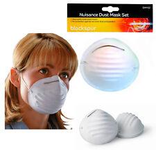 6pc MASCHERA ANTIPOLVERE USA E GETTA fastidio respirare Protezione Fai Da Te Faccia Bianca copre Pack