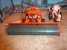 Disney Cars QUALITE-Frank combine and Tipping Tractor LOOSE RARE, UK seller