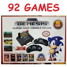 Sega Genesis Megadrive Video Classic Games Console 92 Games 2 Wired Controllers