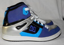 DC skateboard sneakers sz 9 M purple leather