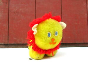 Vintage EDEN Yellow Lion You Are My Sunshine Musical Wind Up Plush Toy WORKS
