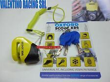 BLOCCA DISCO OXFORD SCOOT XD5 PER VESPA PX 125 150 200 LML STAR 125 150 151 200