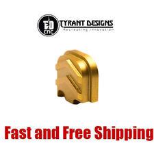 Tyrant Designs Aluminum Slide/Upper Cover Back Plate for Glock Gen 1,2,3,4 Gold