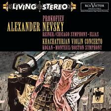 Prokofiev Alexander Nevsky Khachaturian Violin Concerto 200 RCA Victor  CD