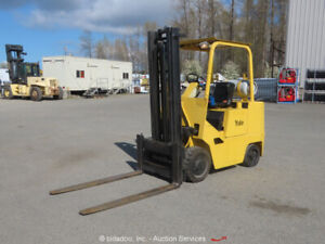Yale GLC060 LP 6,000 Lb Warehouse Industrial Forklift Lift Truck bidadoo -Repair