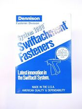Dennison System 1000 Swiftachment Fasteners 08284 Pack of 5000 Tagging Gun