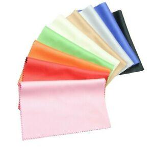 PREMIUM Brillenputztuch Microfaser Brillen Reinigungstücher Mikrofaser 9 Farben