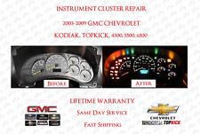 2003-2009 Kodiak TopKick Instrument Cluster Repair Chevrolet GMC